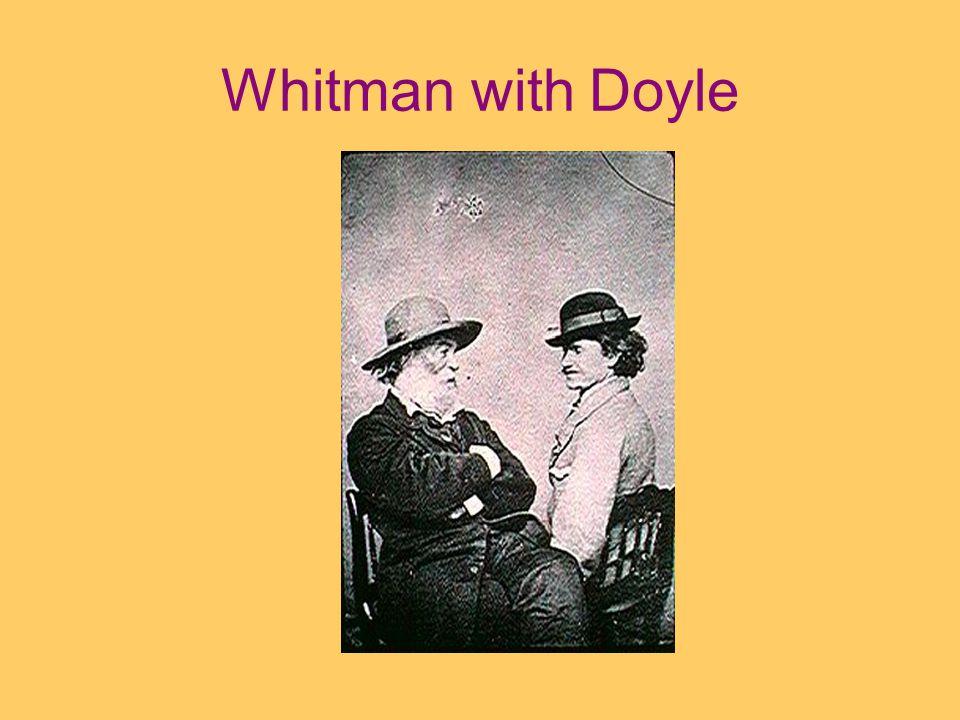 Whitman with Doyle