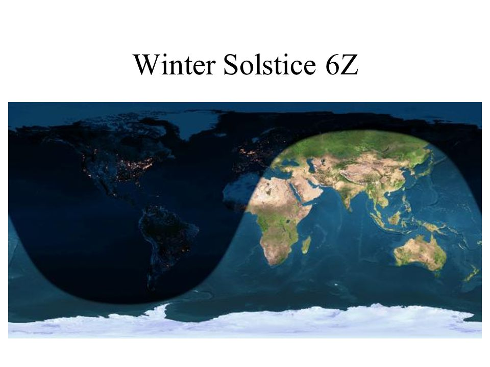 Winter Solstice 6Z