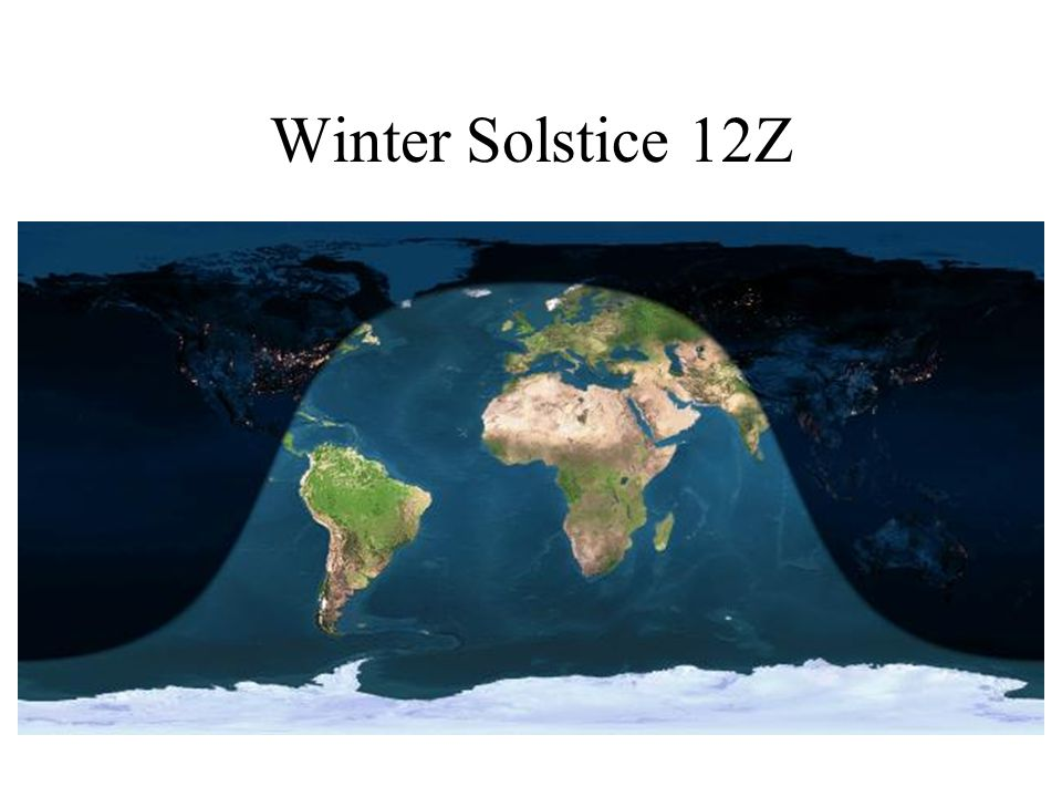 Winter Solstice 12Z