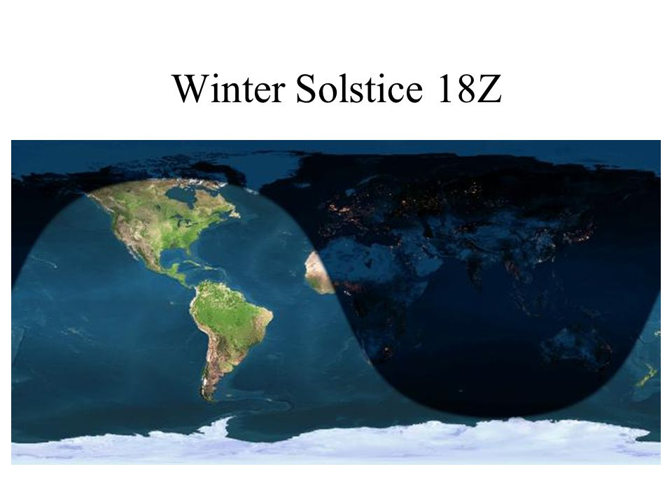 Winter Solstice 18Z