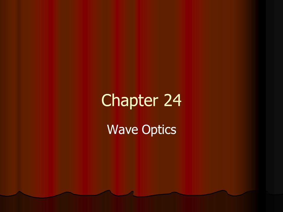General Physics Interference Patterns, 3 The upper wave travels one wavelength farther than the lower wave Therefore, the waves arrive in phase Again, constructive interference results A bright fringe occurs Path difference is δ = λ
