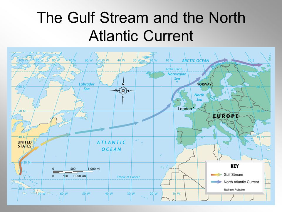 OwlTeacher.com The Gulf Stream and the North Atlantic Current