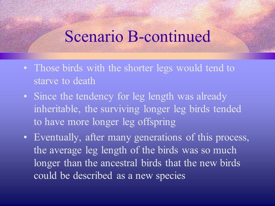 Comparing Scenarios Compare and contrast the two scenarios Which scenario seems more accurate.