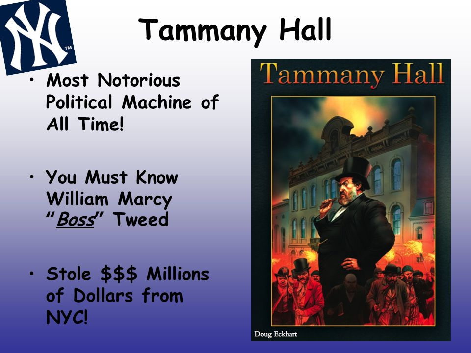 """Tammany Hall Most Notorious Political Machine of All Time! You Must Know William Marcy """"Boss"""" Tweed Stole $$$ Millions of Dollars from NYC!"""