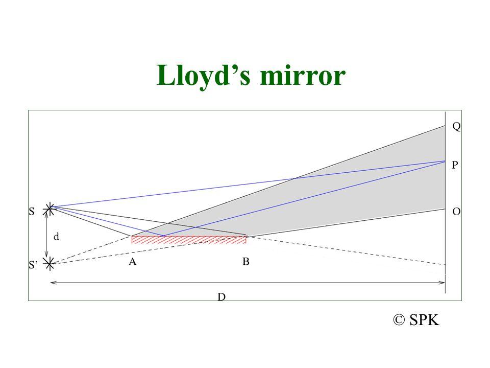Lloyd's mirror © SPK