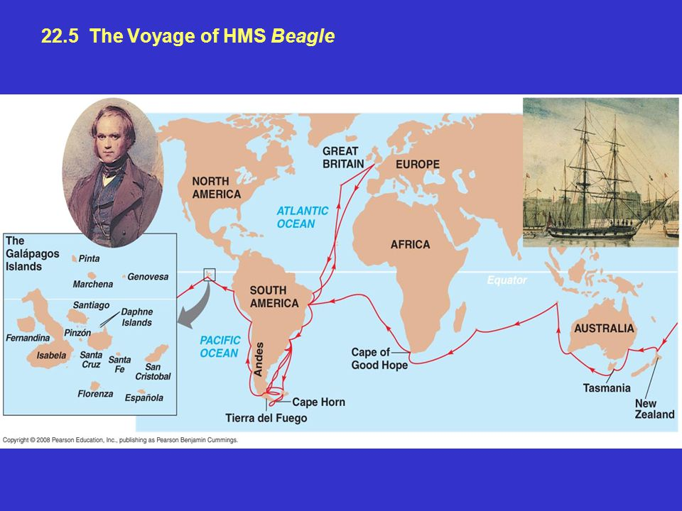 22.5 The Voyage of HMS Beagle