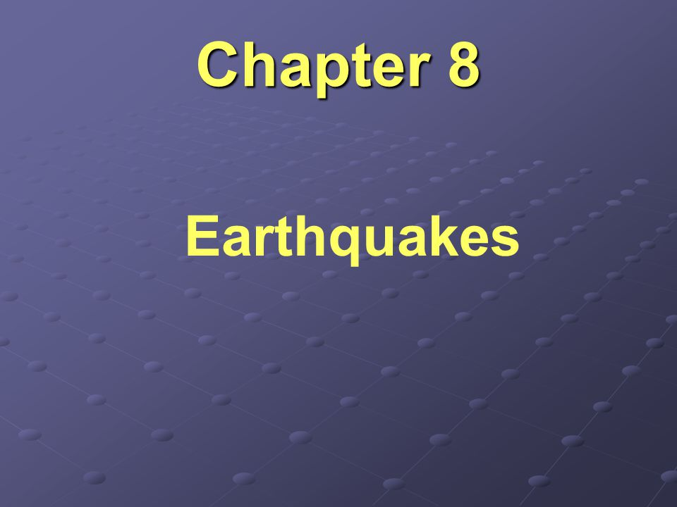 Earthquake Hazard Earthquake hazard measures how prone an area is to experiencing earthquakes in the future.