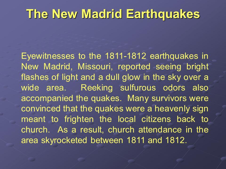 MISCONCEPTION ALERT!.Earthquakes are not a rare phenomenon.