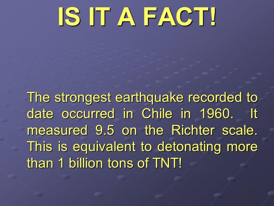 Earthquakes Seismograph of an Earthquake
