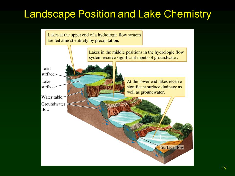 17 Landscape Position and Lake Chemistry