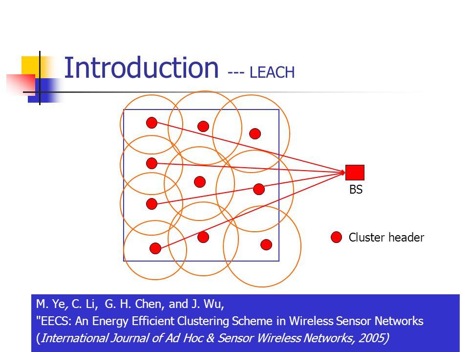 6 Introduction --- LEACH M. Ye, C. Li, G. H. Chen, and J.