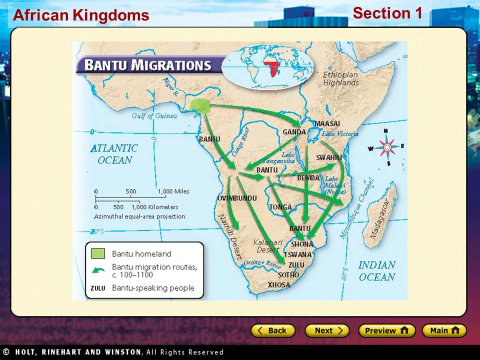Section 1 African Kingdoms