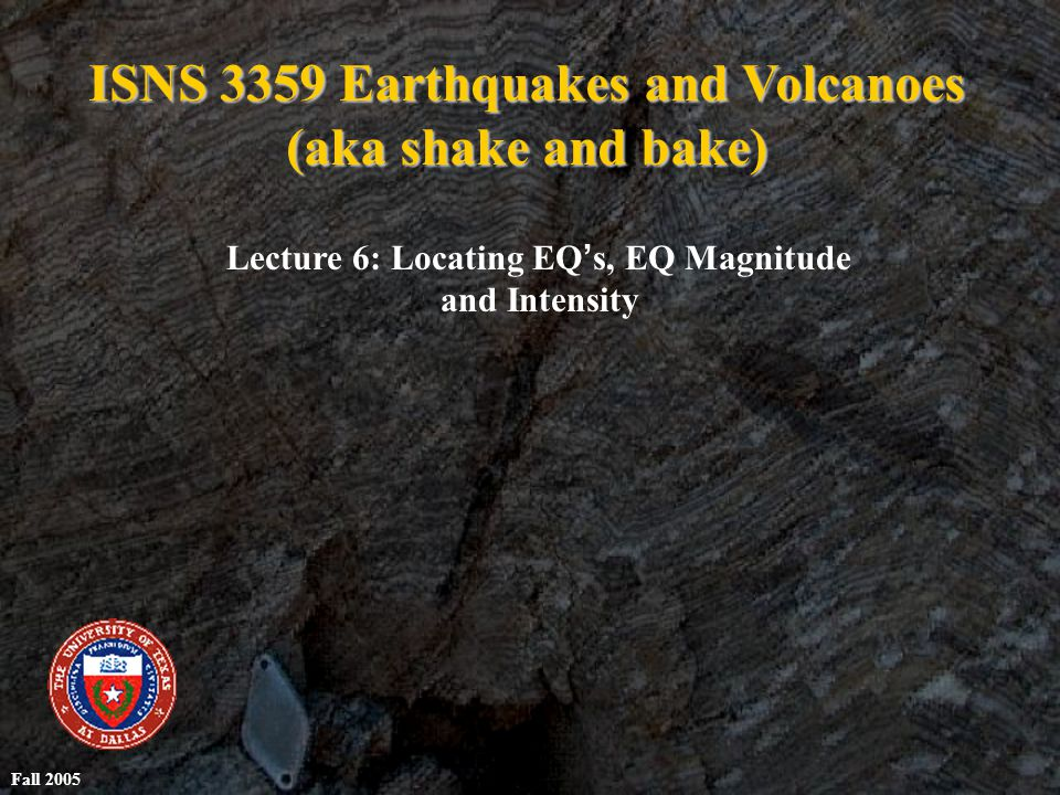 Development of Seismology Seismology: study of earthquakes Earliest earthquake device: China, 132 B.C.