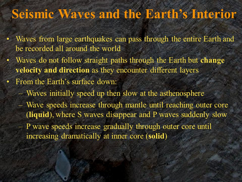 Seismic Waves and the Earth's Interior