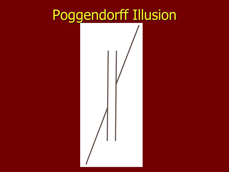 Poggendorff Illusion