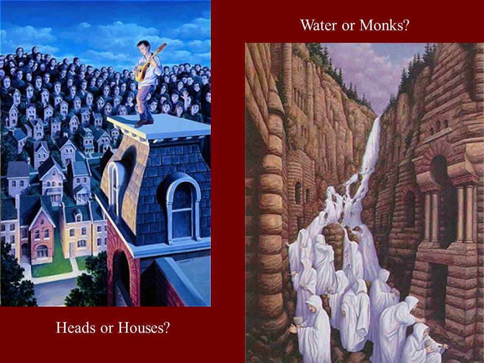 Heads or Houses Water or Monks