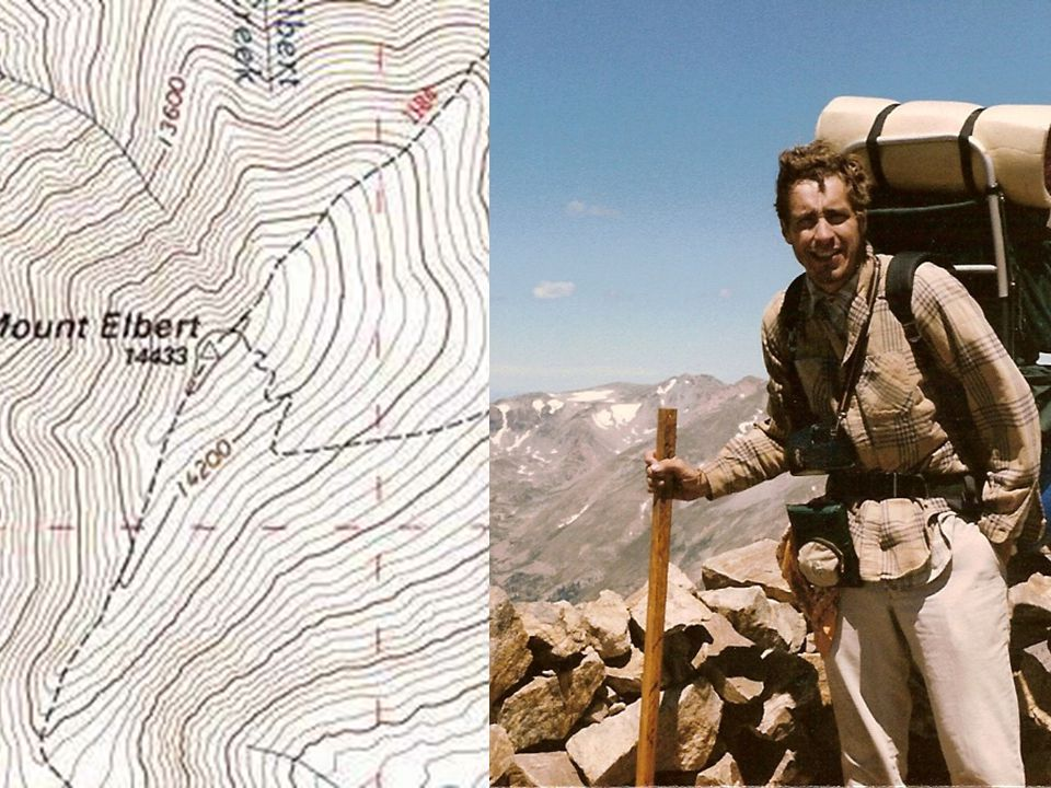  It is easier to visualize how these equipotential surfaces fit together to form a 3D image of the actual surface if we concentrate on the vicinity of the crest of Mount Elbert: Electric Potential, Energy, Capacitance 16-2 Equipotential Surfaces