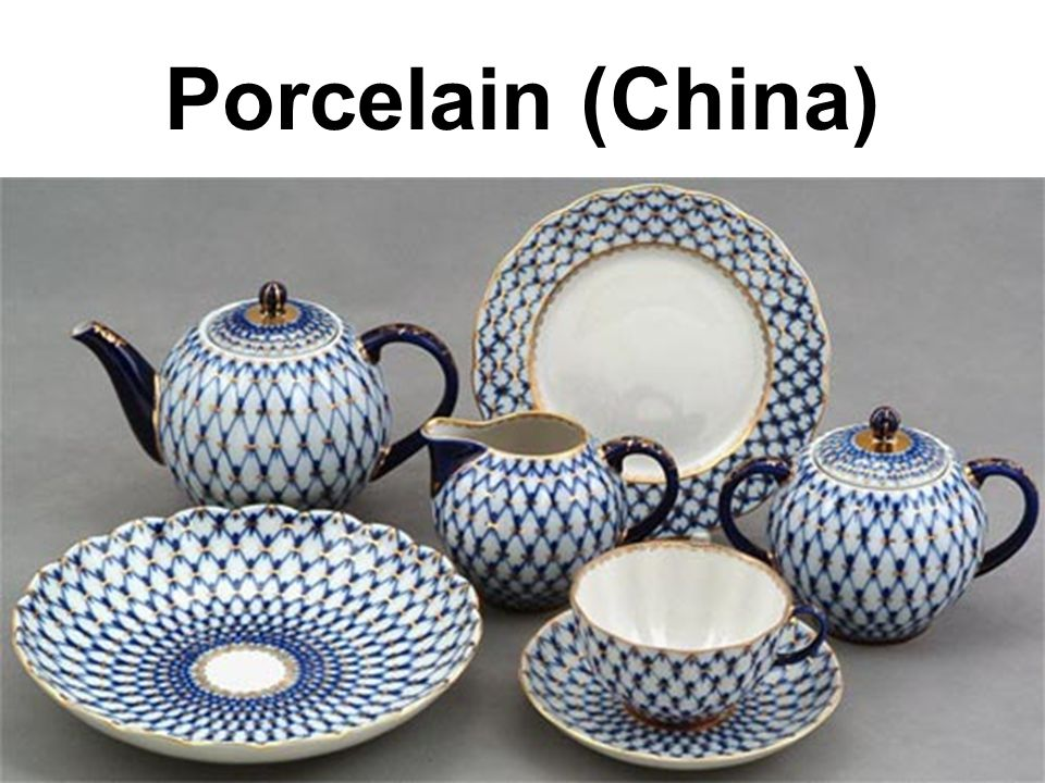 Porcelain (China)
