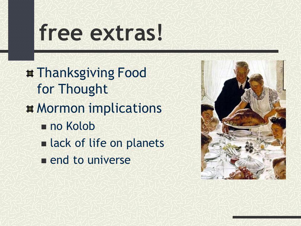 free extras.