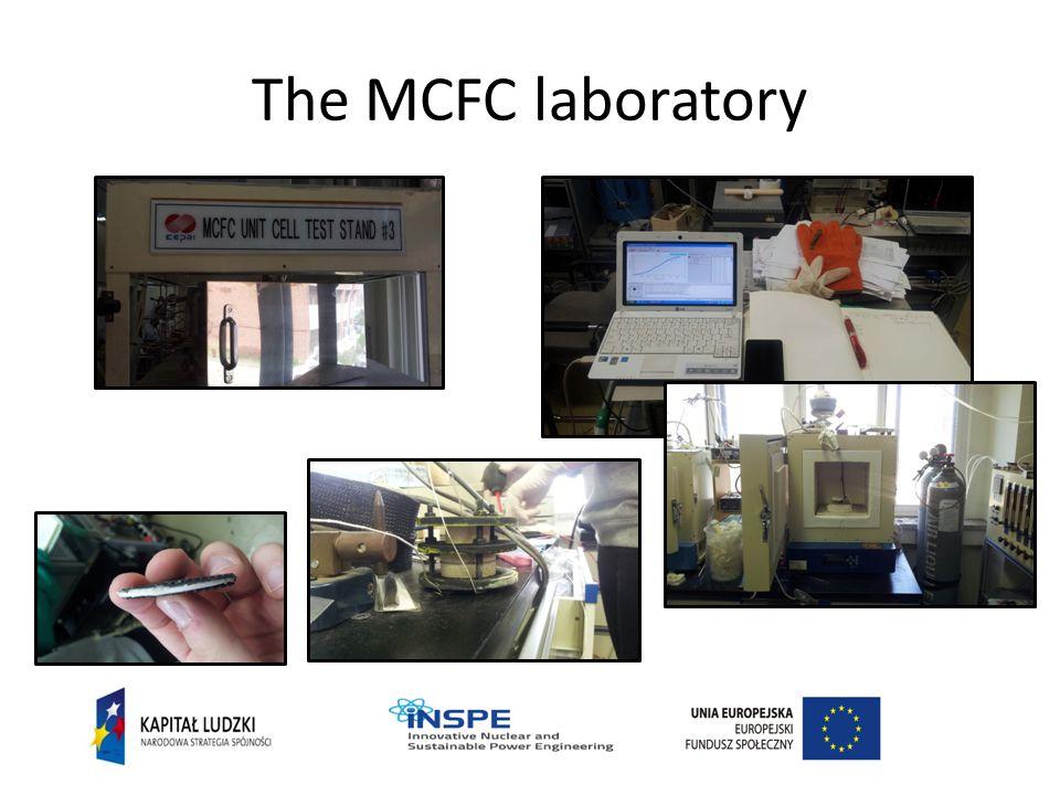 The MCFC laboratory