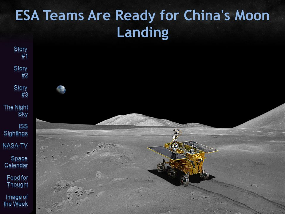 ESA Teams Are Ready for China s Moon Landing