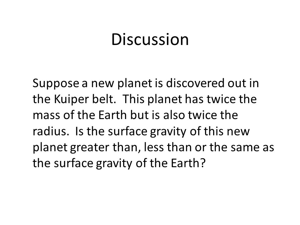 Discussion Suppose a new planet is discovered out in the Kuiper belt.