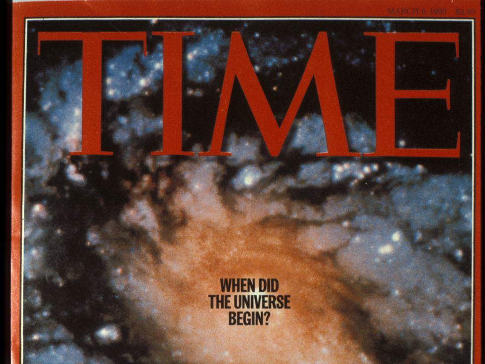 TIME: Universe Begin?