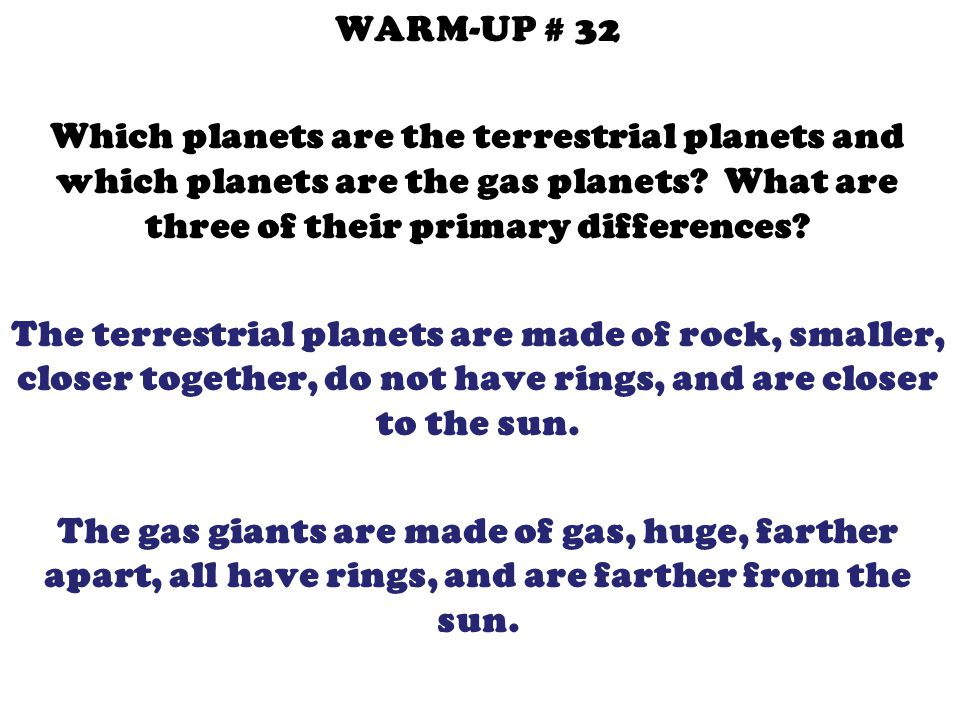 WARM-UP # 33 Why isn't Pluto a planet anymore.What makes it a dwarf planet.
