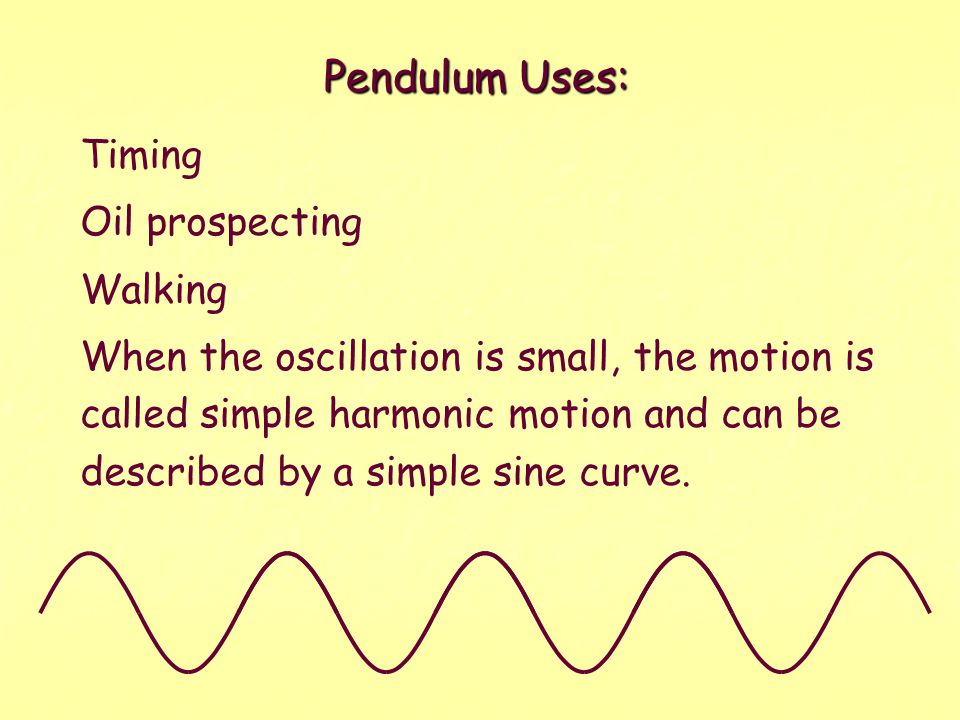  T is the period, the time for one vibration.  l is the length of the pendulum.  g is the acceleration due to gravity.  Galileo discovered this. 