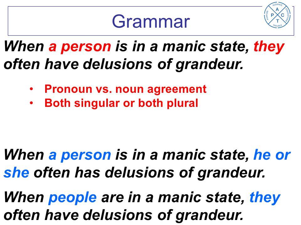 Pronoun vs.