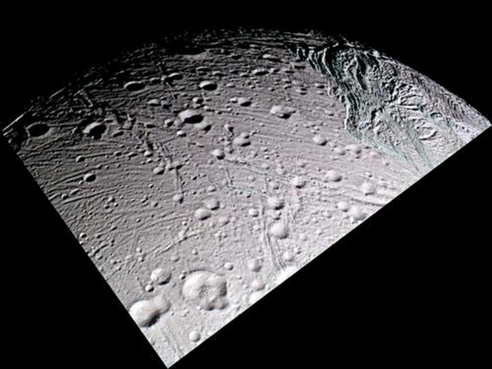 Enceladus surface wedge