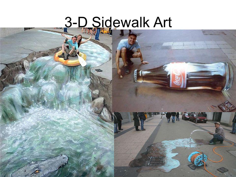 3-D Sidewalk Art 20