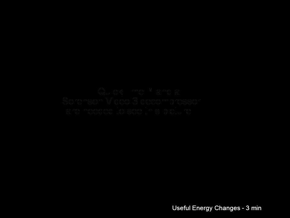 Useful Energy Changes - 3 min