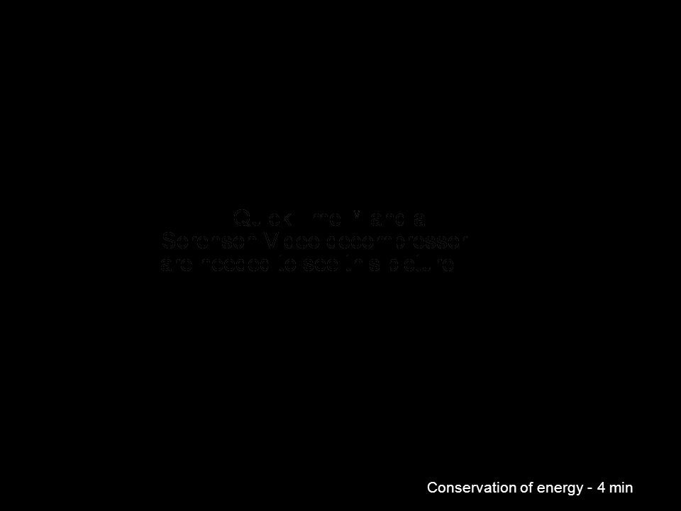 Conservation of energy - 4 min