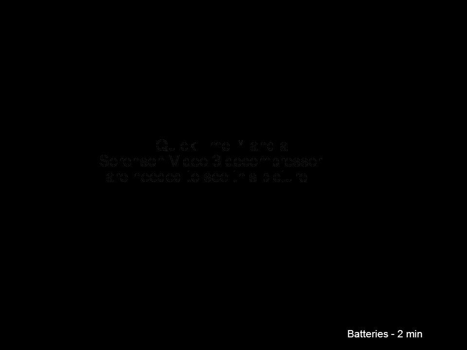 Batteries - 2 min