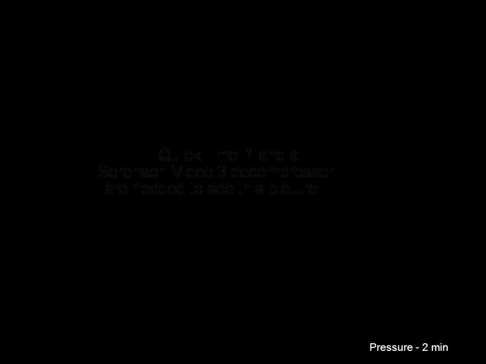 Pressure - 2 min