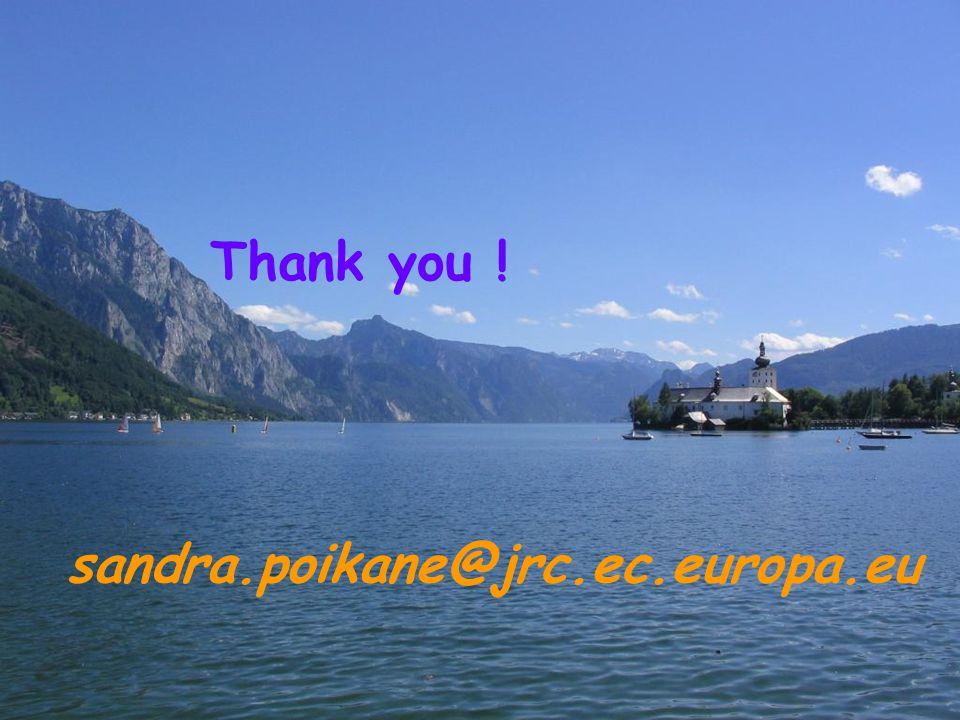 sandra.poikane@jrc.ec.europa.eu Thank you !
