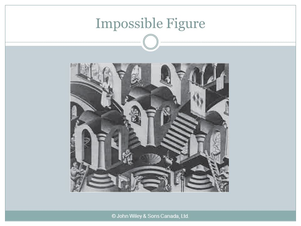 Impossible Figure © John Wiley & Sons Canada, Ltd.
