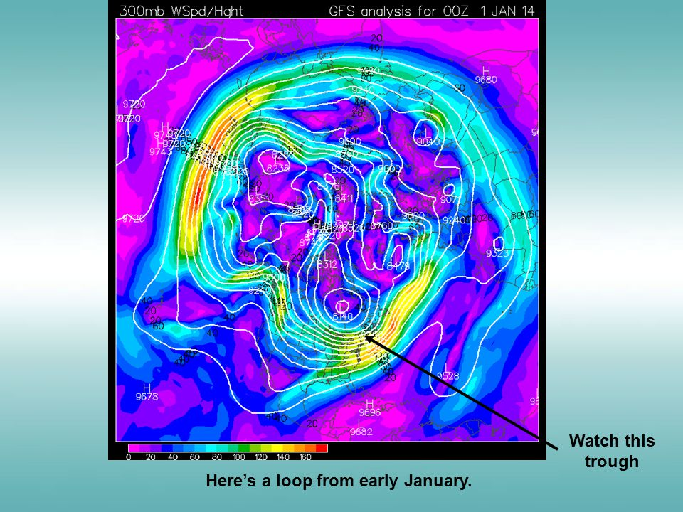Here's a loop from early January. Watch this trough