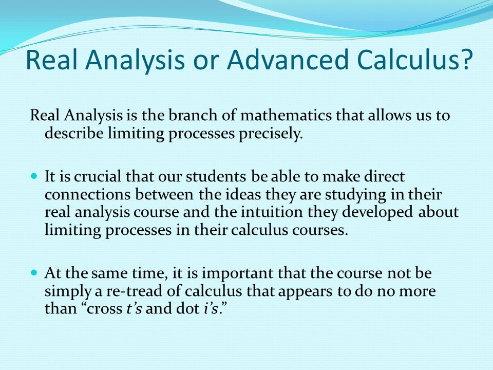 Activity 5: You are teaching a real analysis class and have just defined continuity.
