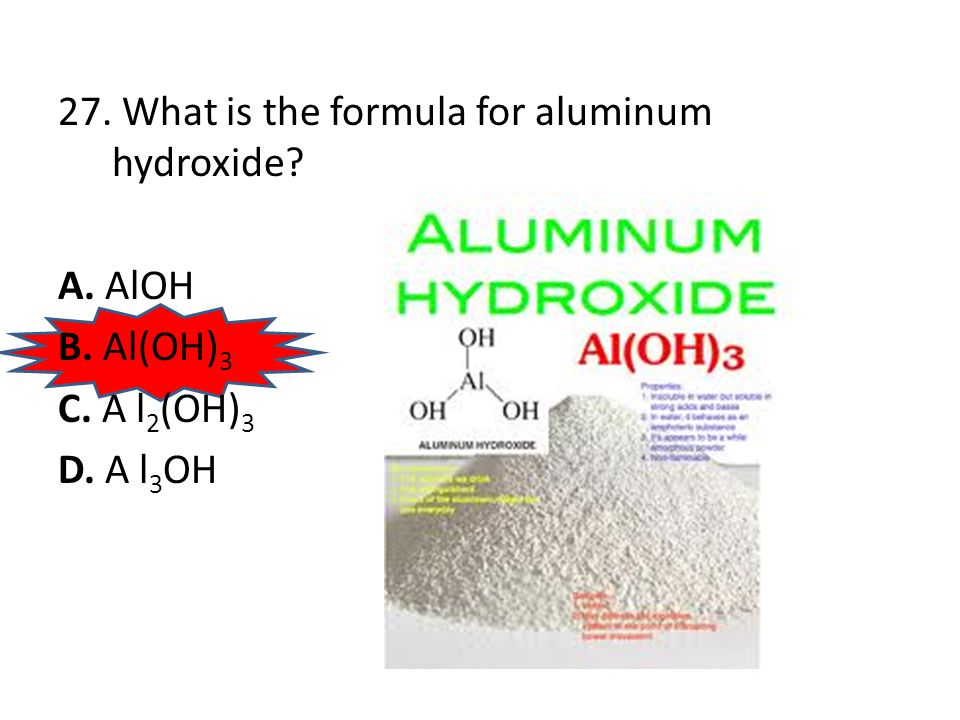 26. What is the formula for the compound formed by iron (II) ions and chromate ions.