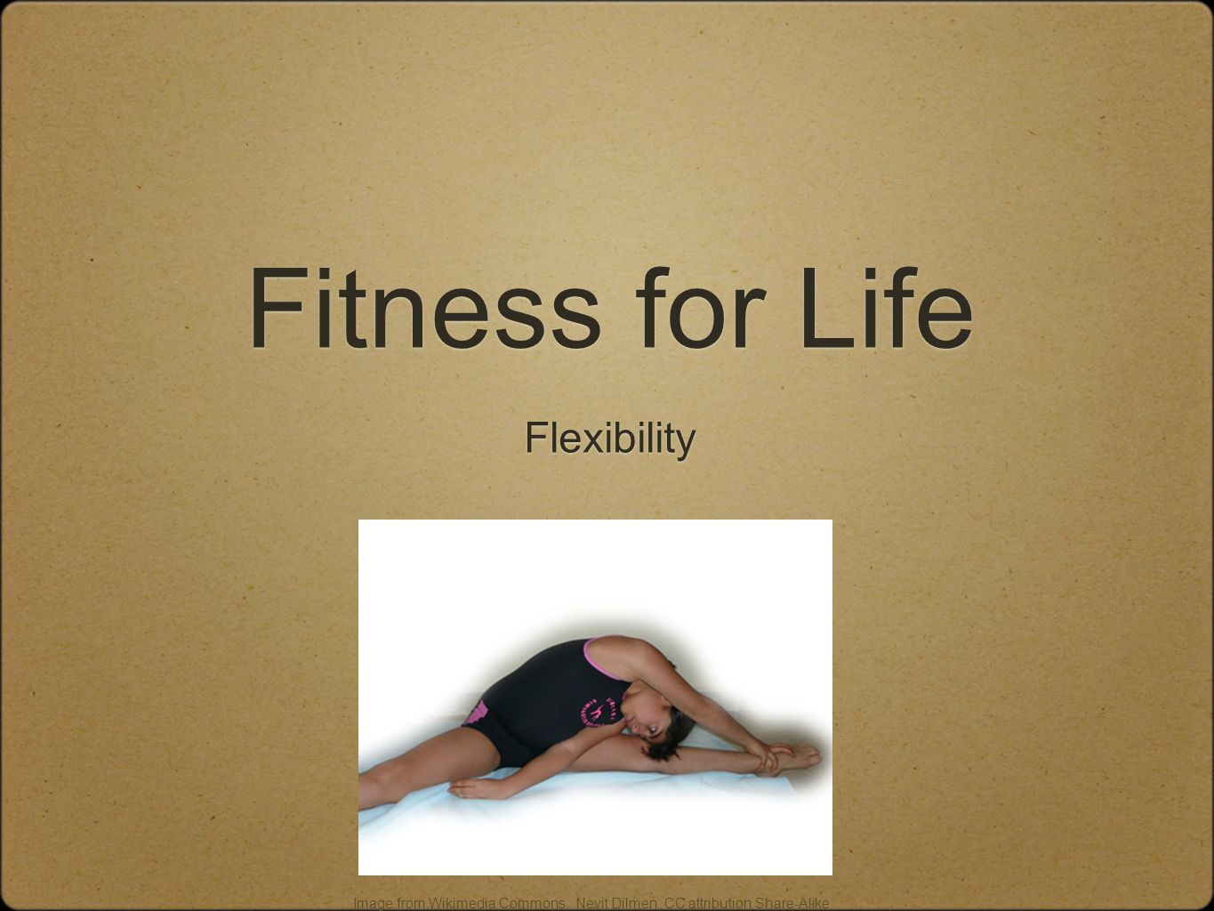 How is flexibility affected by age or inactivity.