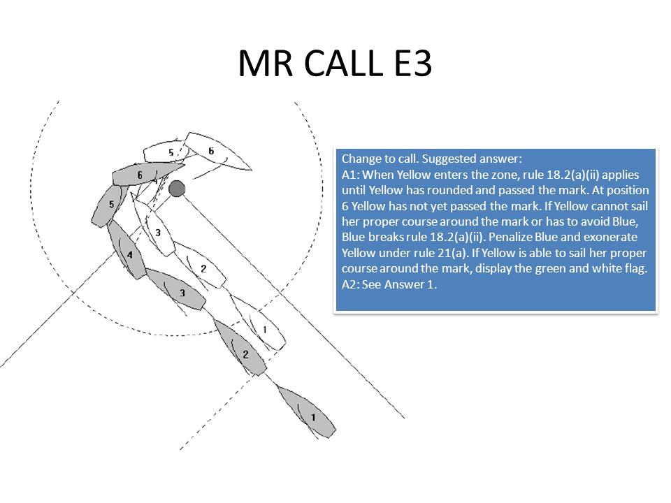 MR CALL E3 Change to call.