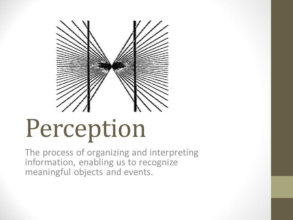 Binocular Cues Binocular Disparity – Slightly different image is cast on the retina of each eye.