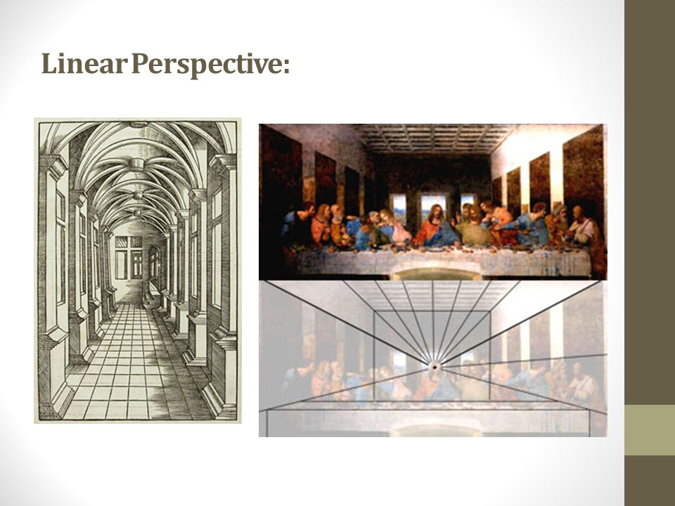Linear Perspective: