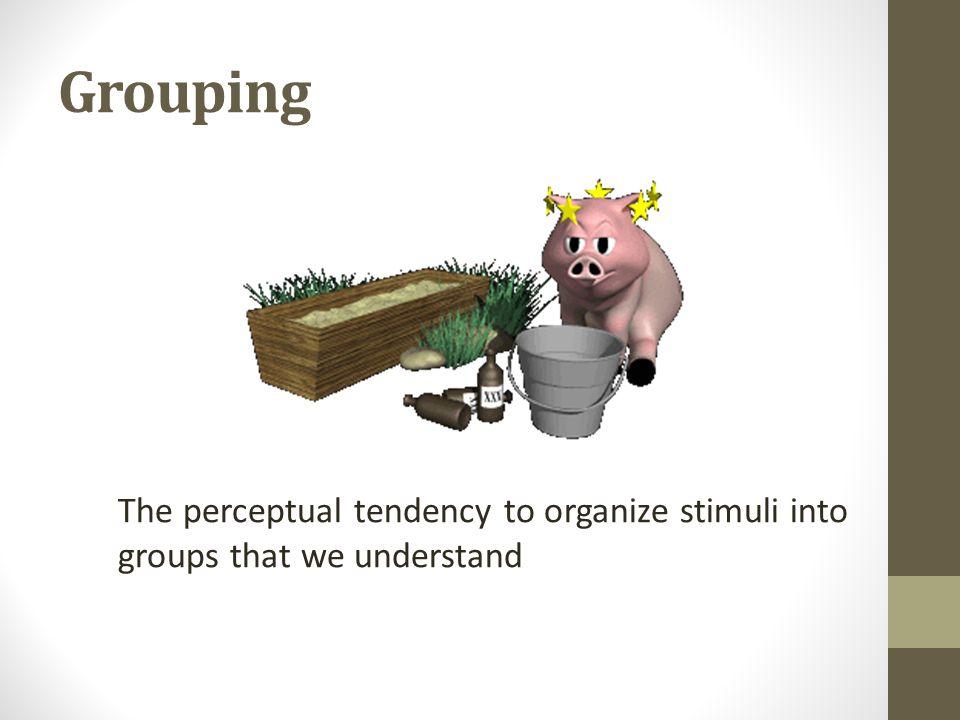Gestalt Principals of Grouping