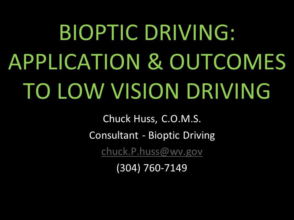 Bioptic driving 2