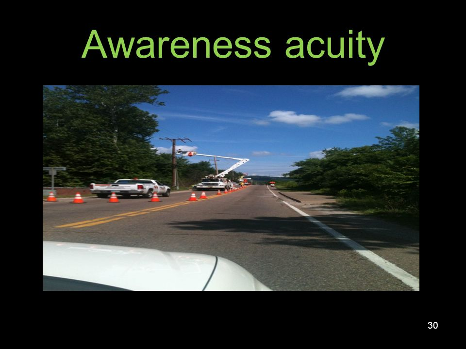 Identification acuity 31