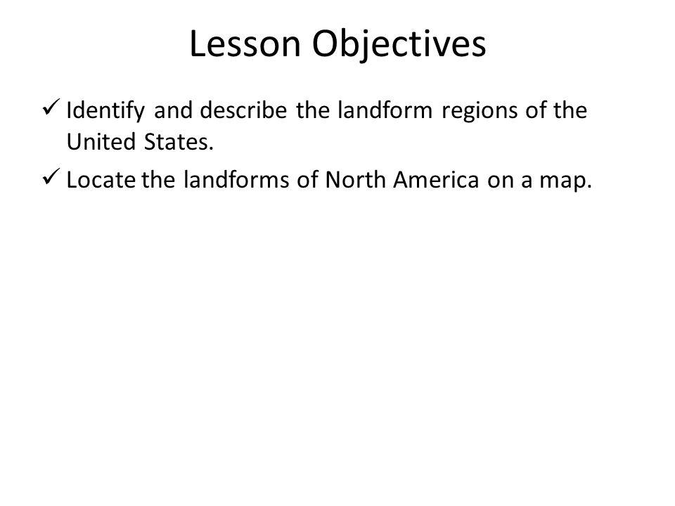 Vocabulary Landform region Climate Mountain range Erosion Prairie Environment