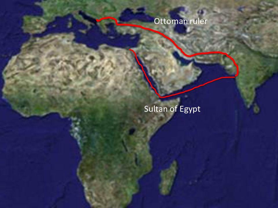 Ottoman ruler Sultan of Egypt